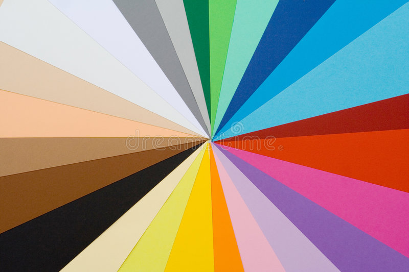 Multi coloured background. Multi coloured or colored background stock photo