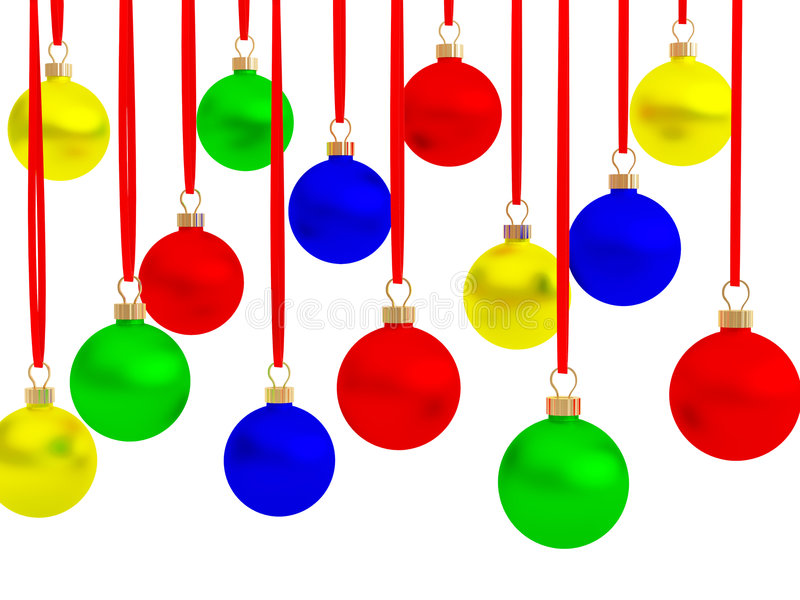 Multi-coloured ballen stock illustratie