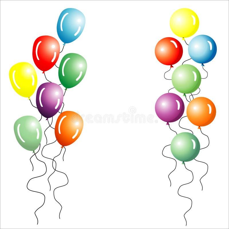 Free Multi-coloured Balloons. Royalty Free Stock Photos - 2236188