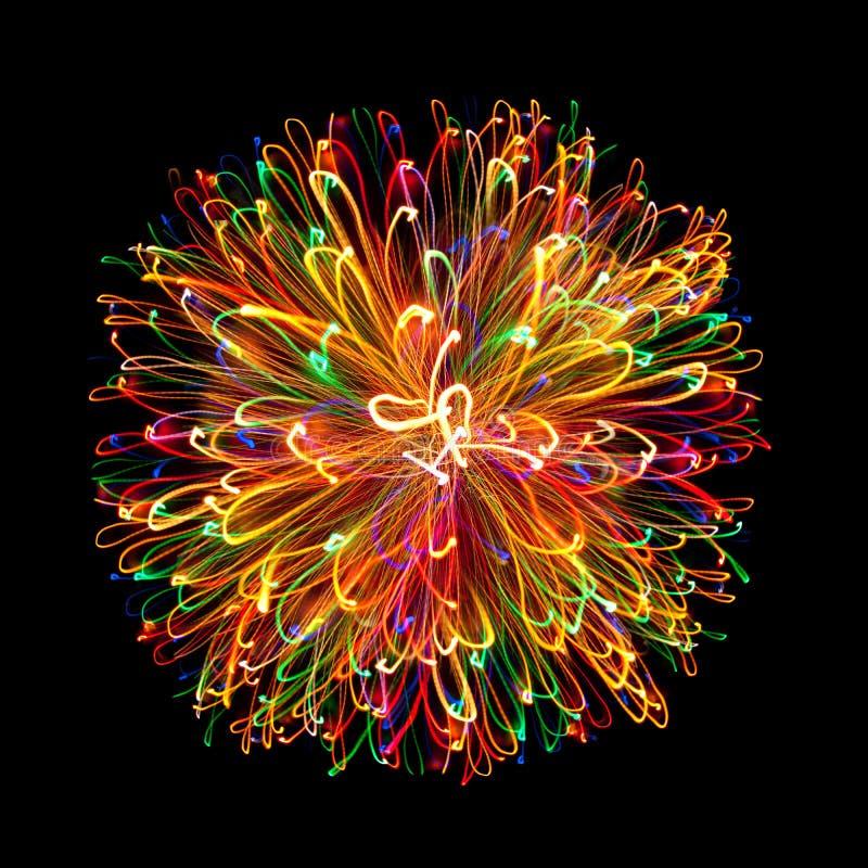Free Multi-coloured Light Sphere Royalty Free Stock Photos - 16955978