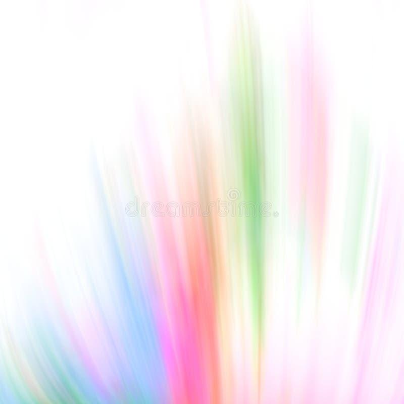 Multi coloured motion effect background vector illustration