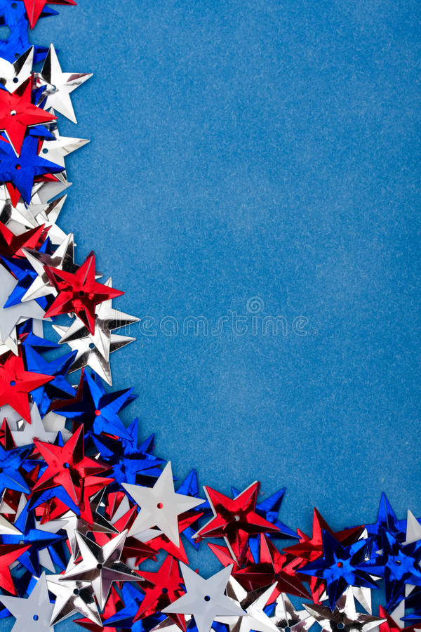 Multi Coloured Star Background stock images
