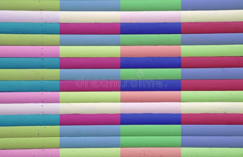 Multi coloured stripes royalty free stock image