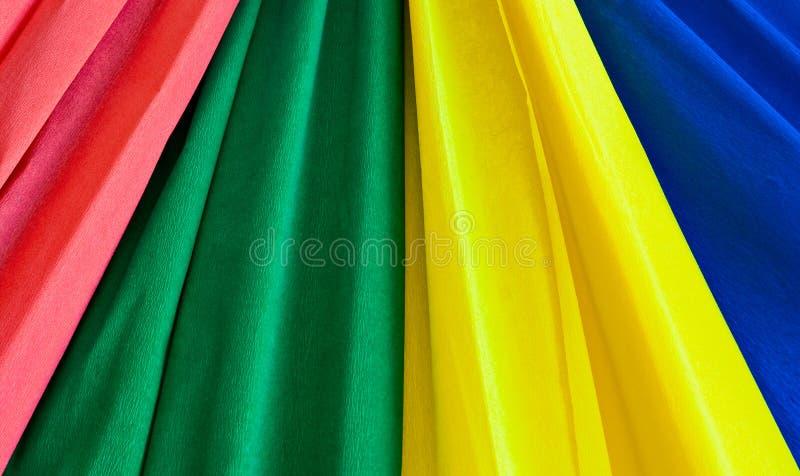 Multi-coloured stroken stock foto