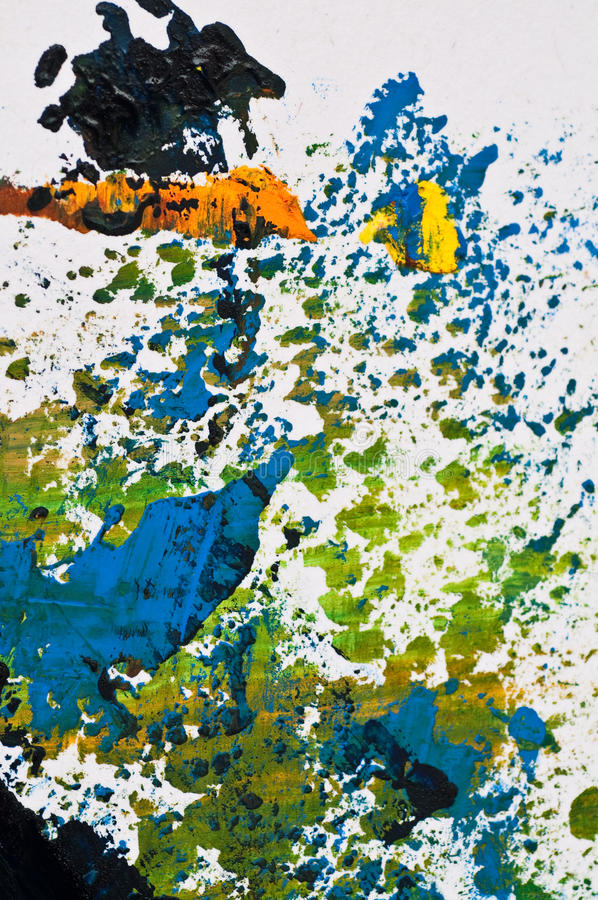 Download Multi-coloured Structure Of Background. Acryle Stock Image - Image of aged, messy: 15630101