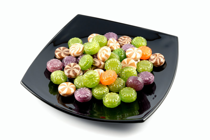 Download Multi-coloured Sweets Sugar Candies Stock Image - Image: 4302151