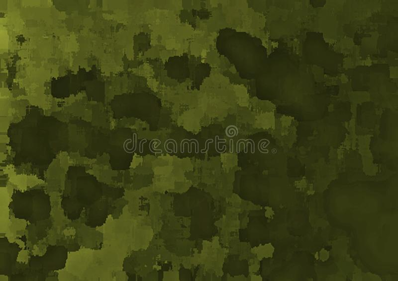 But multi de fond abstrait de camo illustration stock