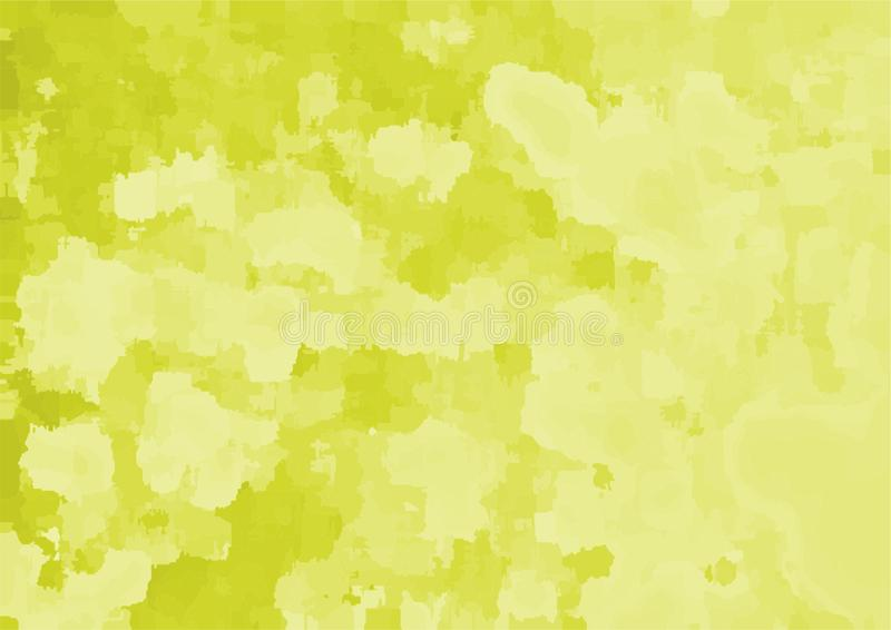 But multi de fond jaune abstrait illustration libre de droits
