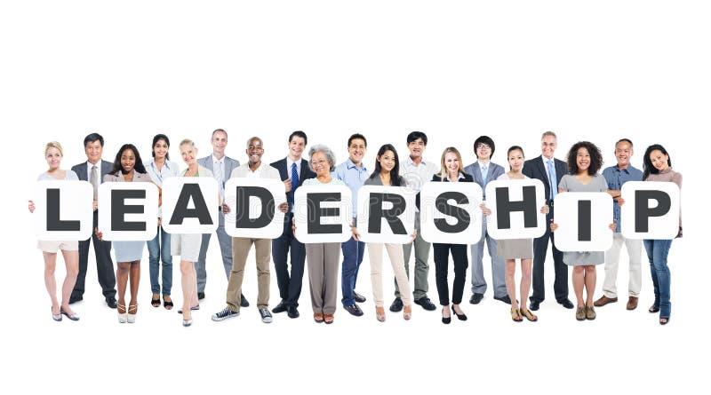 Multi-Ethnic Business People Leadership Community Concept stock image