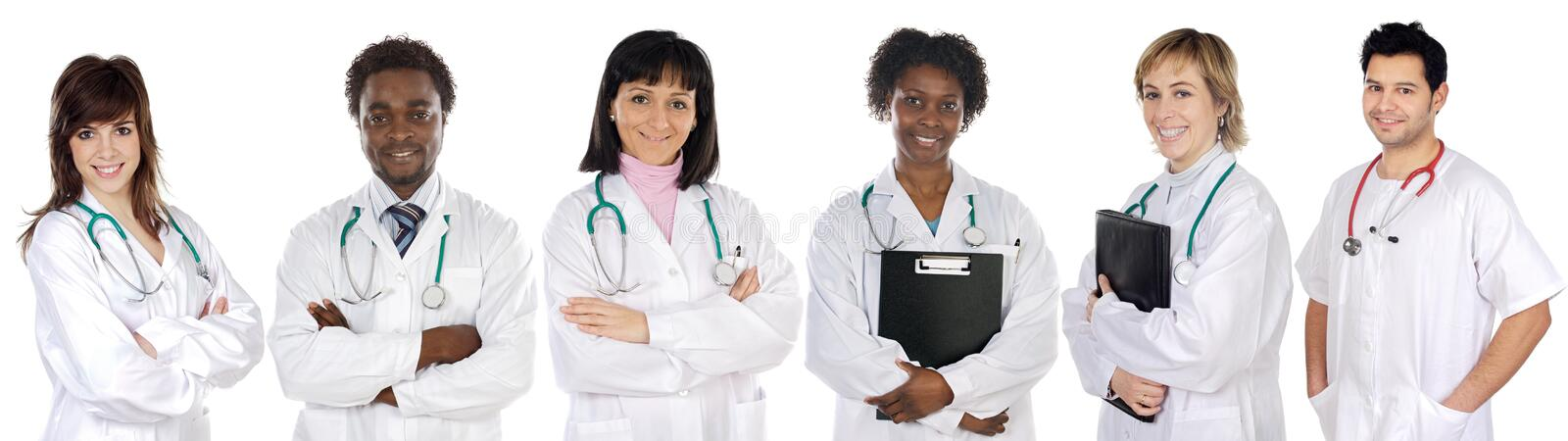 Download Multi-ethnic Medical Team Stock Photography - Image: 4886142