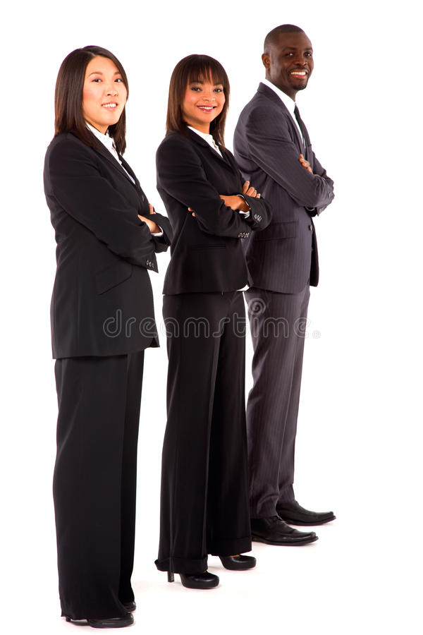 Multi-ethnic team royalty free stock photos