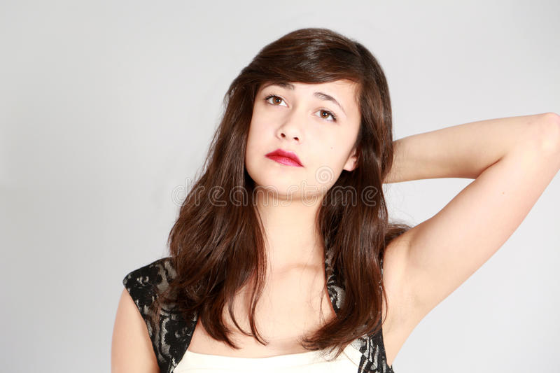 Multi-ethnic young woman royalty free stock image