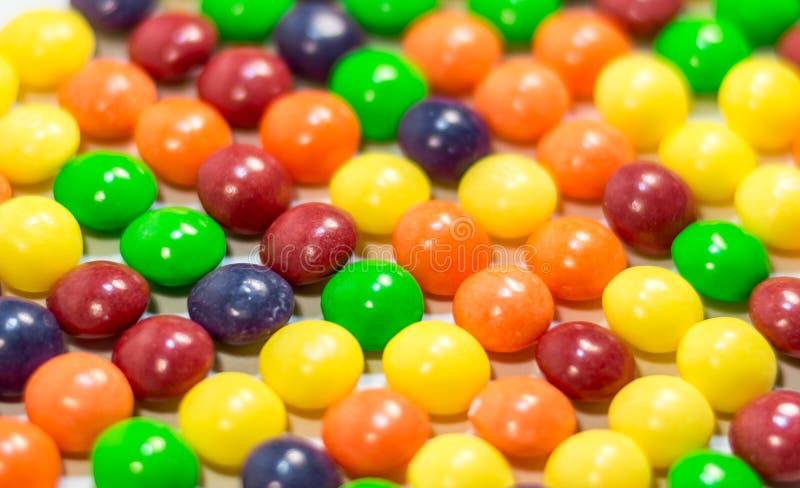 Multi farbige Pillen oder Blasenhintergrundabschluß oben lizenzfreie stockfotos
