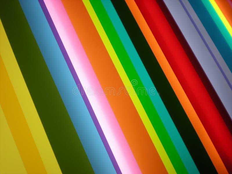 Multi farbiger Streifen-Muster-Hintergrund stockbild