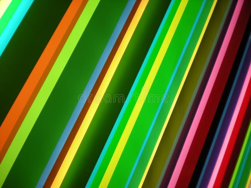 Multi farbiger Streifen-Muster-Hintergrund lizenzfreie stockfotos