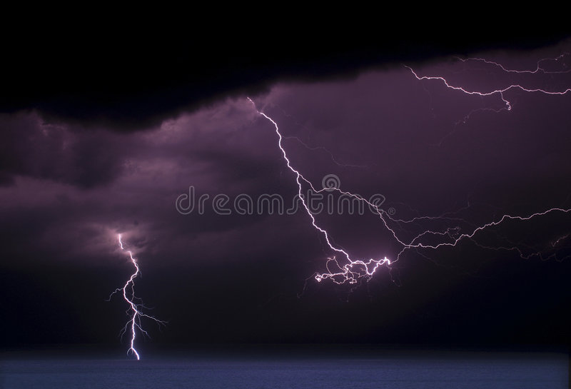 Multi Flash Storm II stock photography