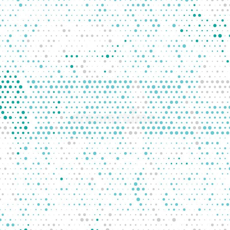 Multi fundo geométrico colorido do sumário do círculo do vetor Molde pontilhado da textura Teste padrão geométrico no estilo de i ilustração royalty free