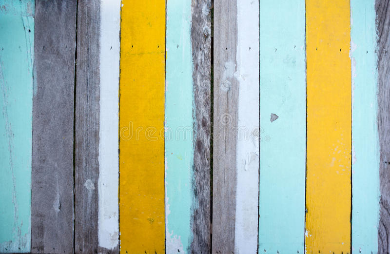 Multi gekleurde houten stock fotografie