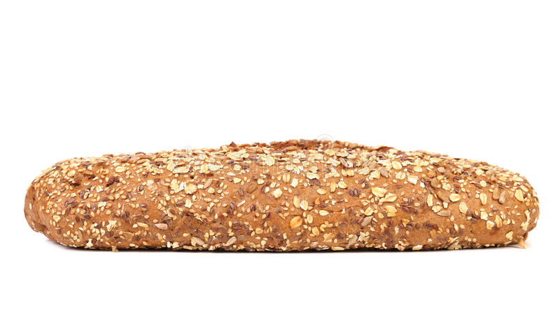 Multi - grain brown bread royalty free stock photos