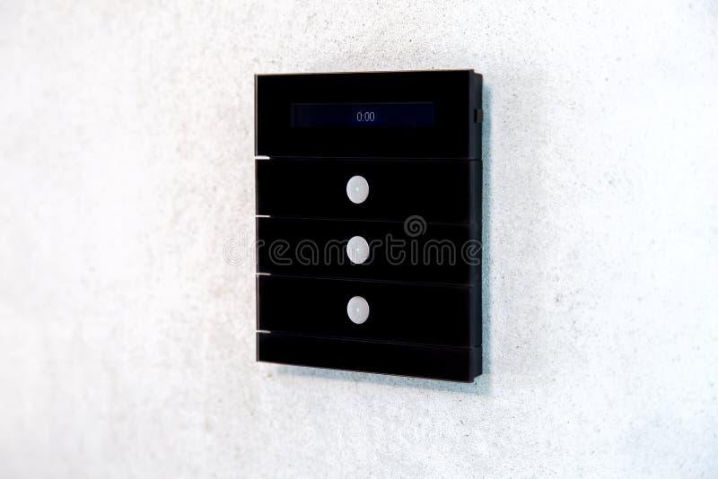 Multi interruptor da luz da função para funções de controlo foto de stock