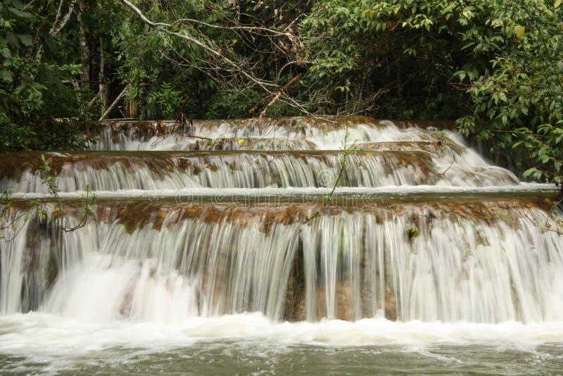 Multi-layered waterval stock afbeeldingen
