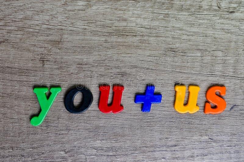 Multi letras de construção plásticas coloridas fotografia de stock royalty free