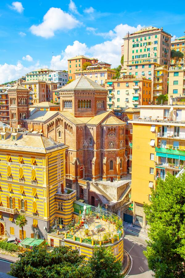 Genoa old town, Italy royalty free stock photos