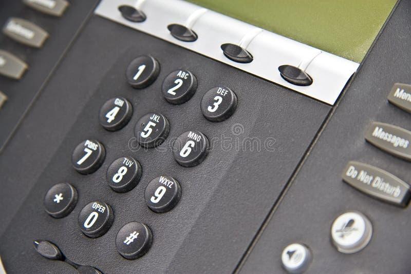 Multi-Line Phone System stock photo