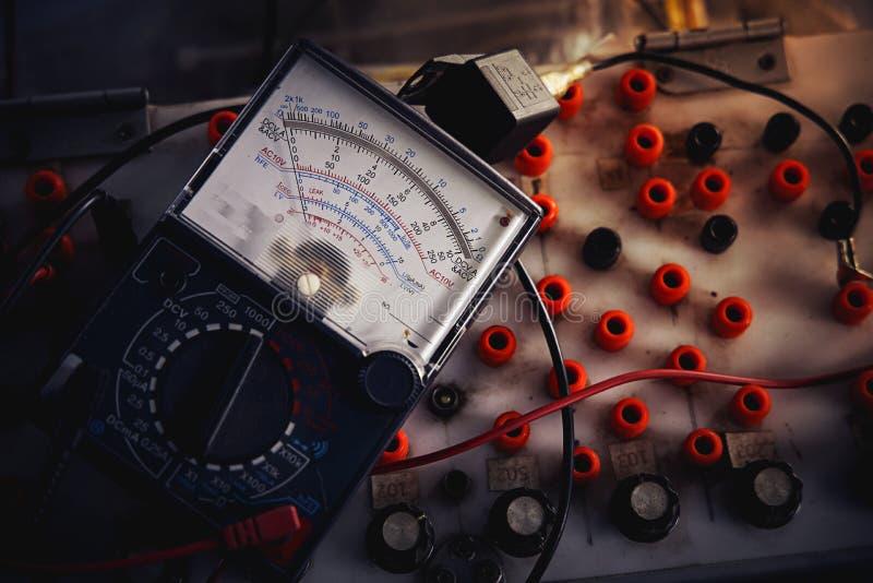Multi-meter analog royalty free stock images
