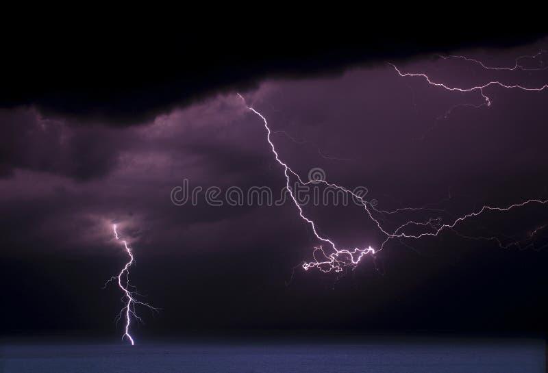Multi Onweer II van de Flits stock fotografie