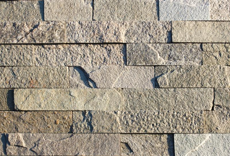 Multi pedra moderna da cor, parede do arenito do travertino da ardósia usada para o fundo imagens de stock royalty free