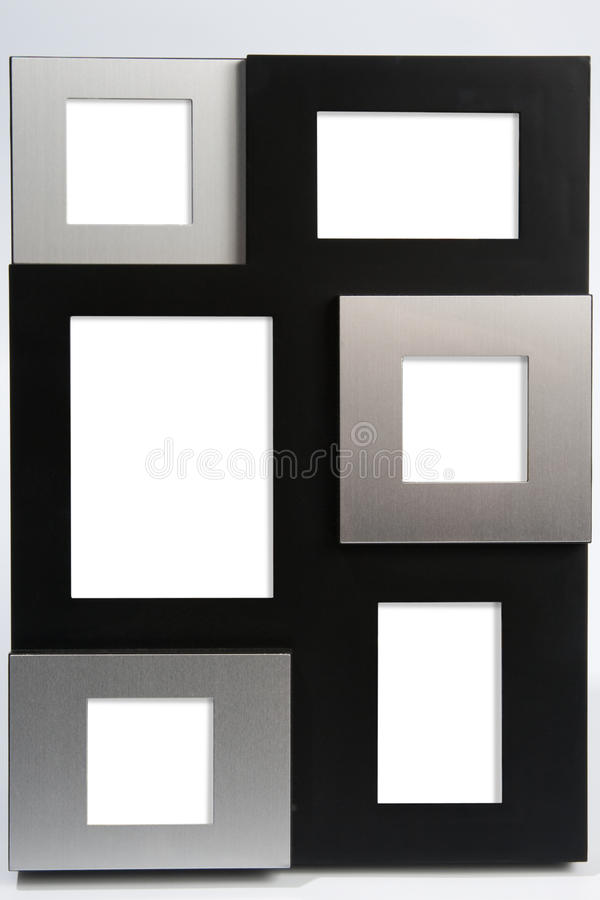 Multi photo frame royalty free stock photo
