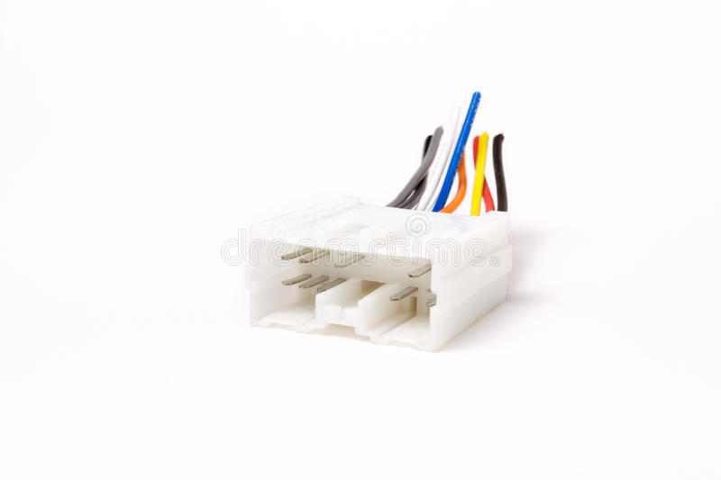 Download Multi pin connector stock photo. Image of electrical - 12761540