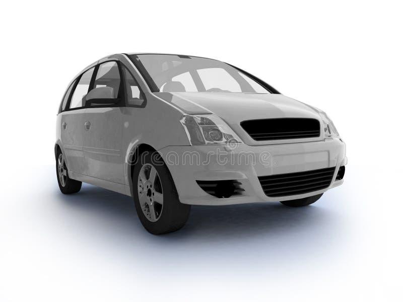 Download Multi-purpose white car stock illustration. Illustration of machine - 11454900