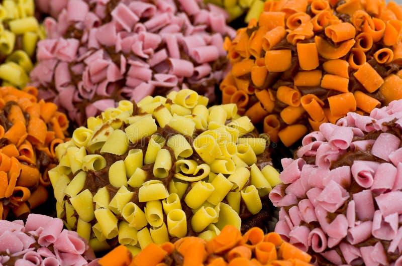 Multi queques coloridos imagem de stock royalty free