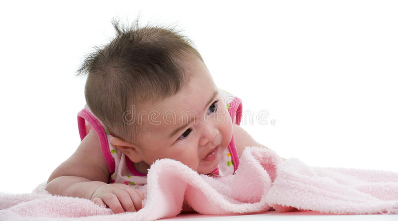 Download Multi-racial Baby Looking To The Side Stock Photo - Image: 18112894