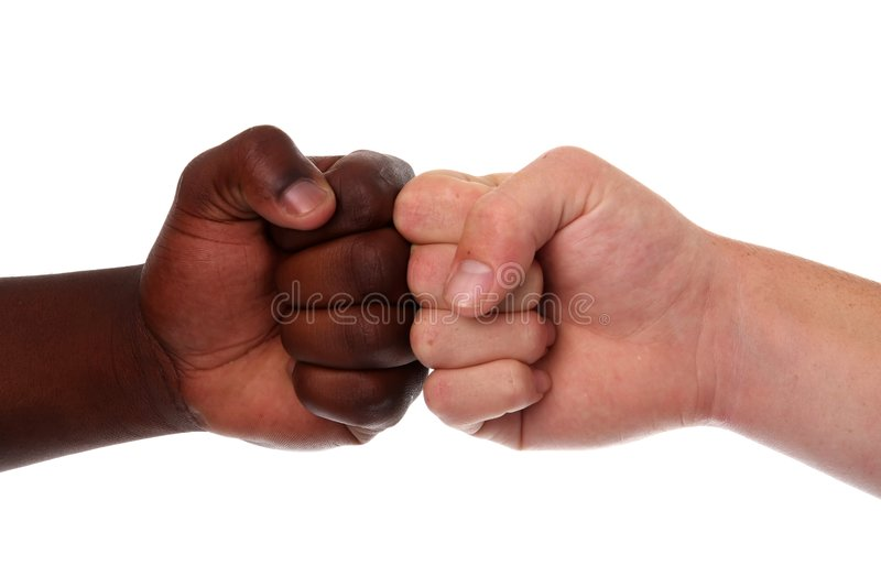 Download Multi Racial Fists stock photo. Image of negro, boxer - 7652148