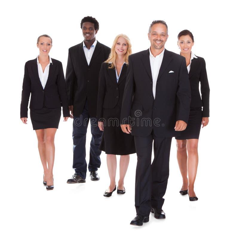 Multi-racial groep bedrijfsmensen royalty-vrije stock foto