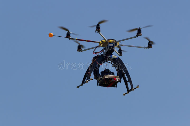 Download Multi rotor drone stock photo. Image of model, aircraft - 30355980