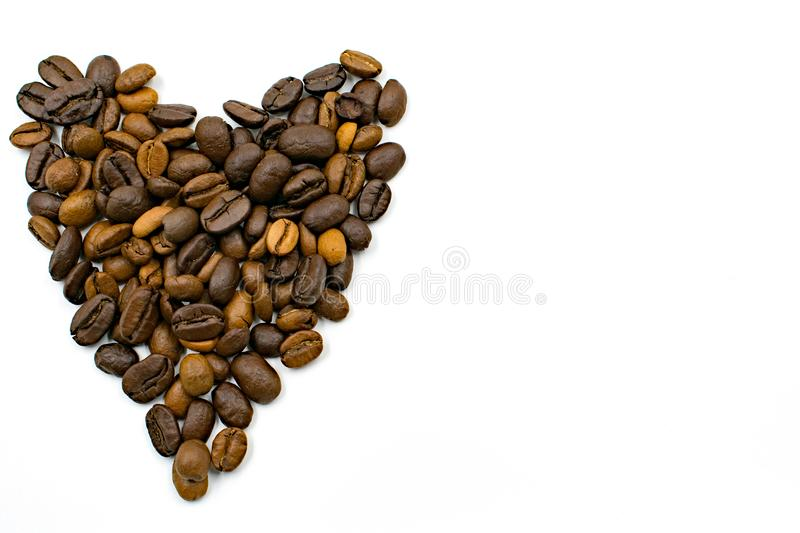 I really love coffee. stock images