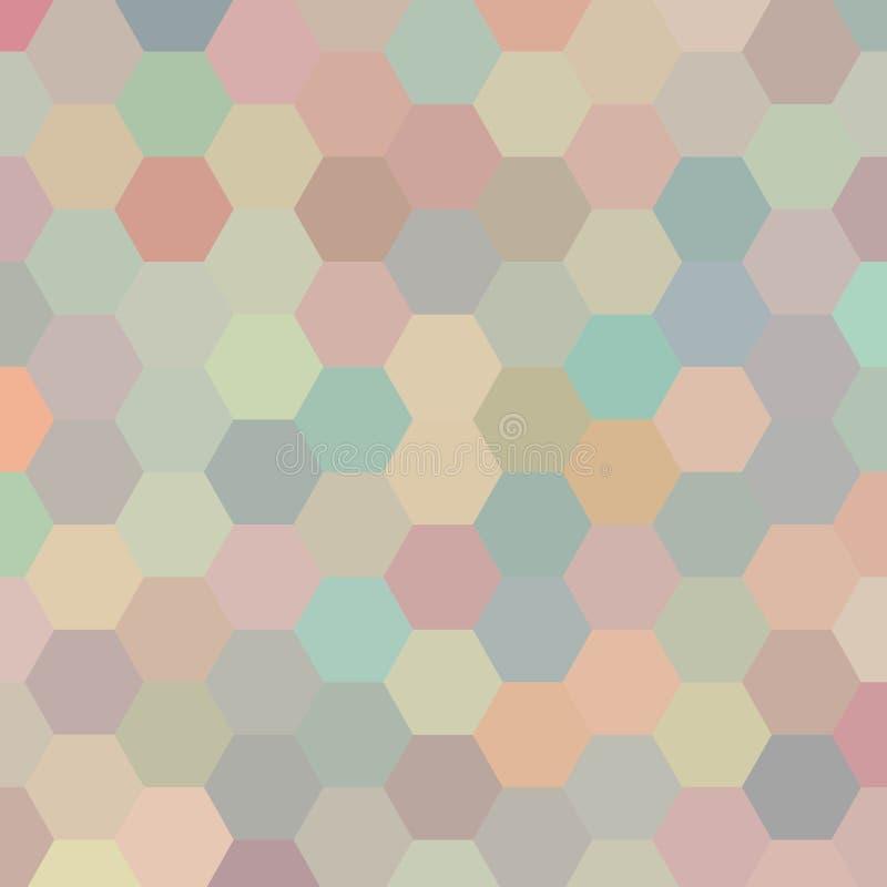 Multi teste padrão tirado mão colorido do vintage dos triângulos imagem digitalmente pintada, eu fi-la por mim mesmo Eps 10 ilustração do vetor