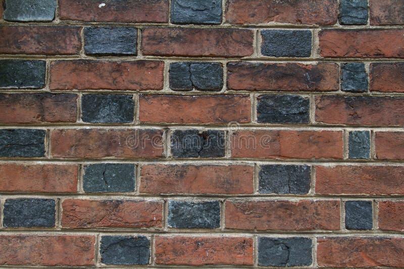 Multi textura colorida da parede de tijolo fotografia de stock royalty free