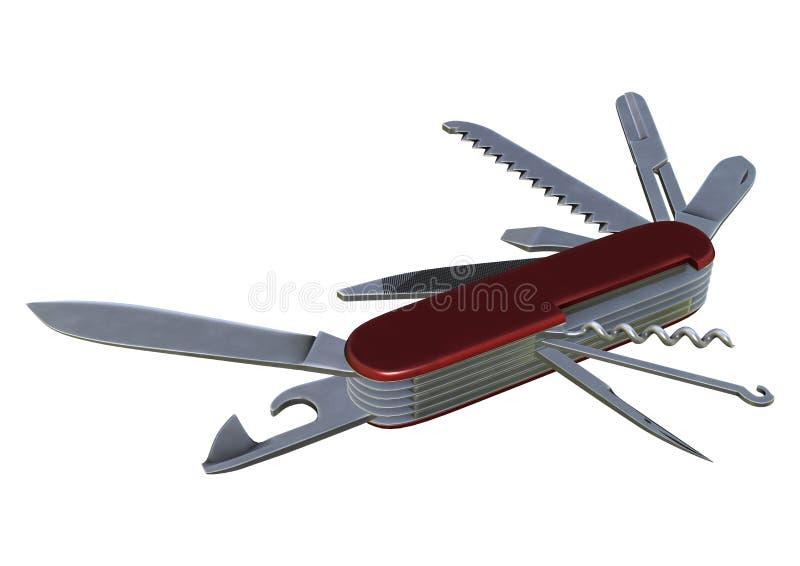 Multi Tool Knife royalty free illustration