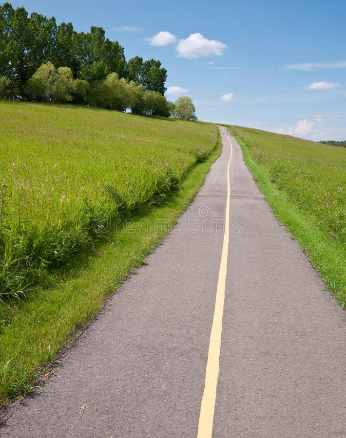 Download Multi-use trail stock image. Image of route, countryside - 15510403