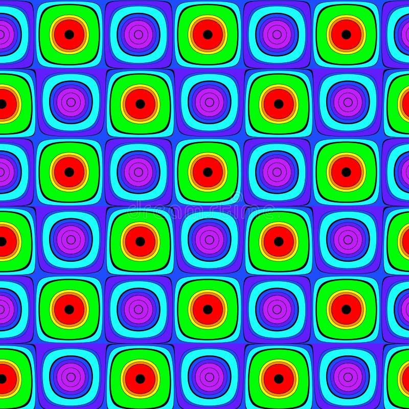 multicolor абстрактной предпосылки яркое иллюстрация штока