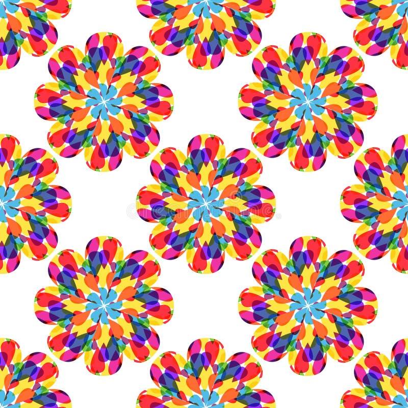 Multicolor безшовная предпосылка конспекта картины бесплатная иллюстрация