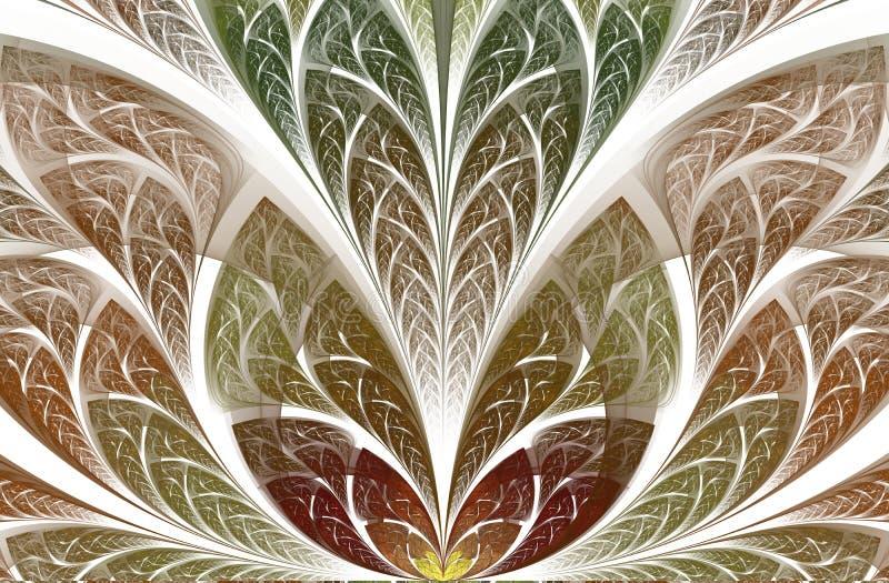 Multicolor красивая листва дерева r иллюстрация штока
