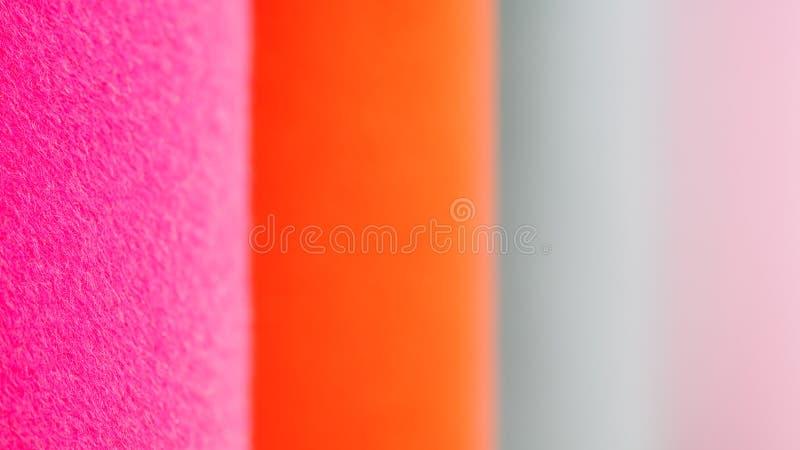 Multicolor поверхность ткани пробует расплывчатый конец-вверх предпосылки конспекта текстуры стоковые фотографии rf