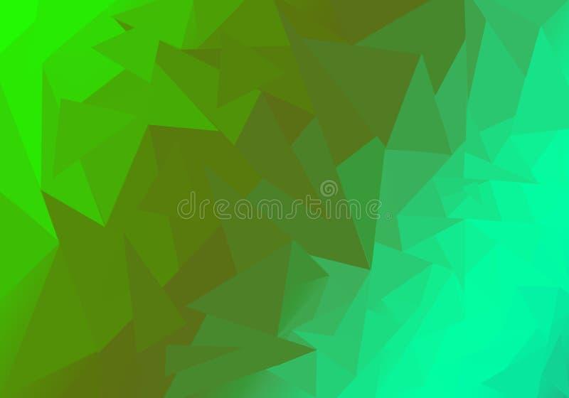 Multicolor полигональная иллюстрация, который состоят из треугольников Геометрическая предпосылка в стиле Origami с градиентом бесплатная иллюстрация