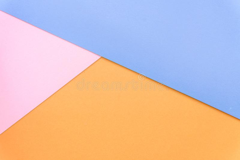 Multicolor предпосылка от бумаги других цветов стоковое изображение